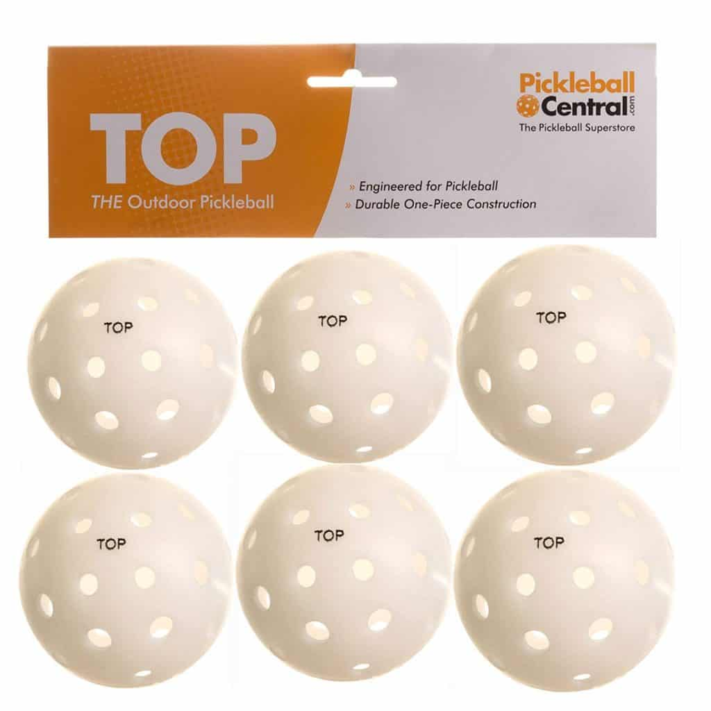 TOP Ball Outdoor Pickleball Balls
