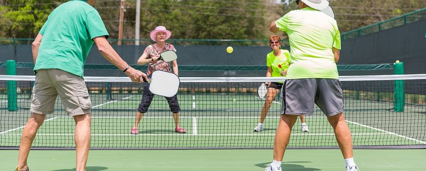 7 Health Benefits of Pickleball