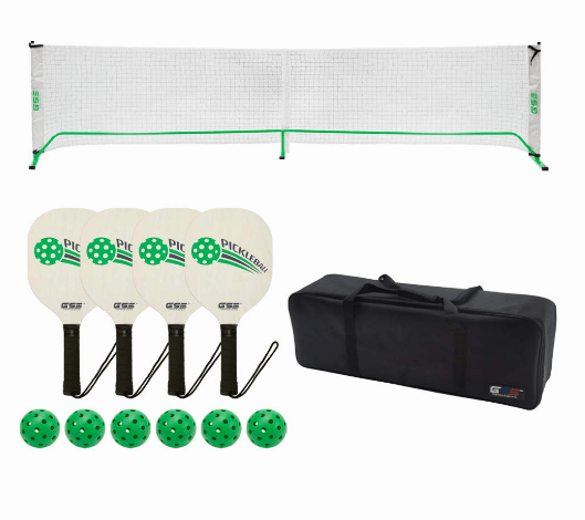 GSE Games & Sports Expert Professional Portable Pickleball Complete Set