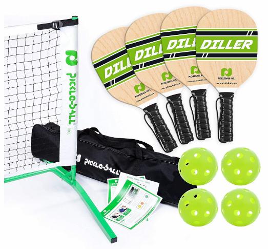 Pickle Ball, Inc. Pickleball Diller Tournament Net Set