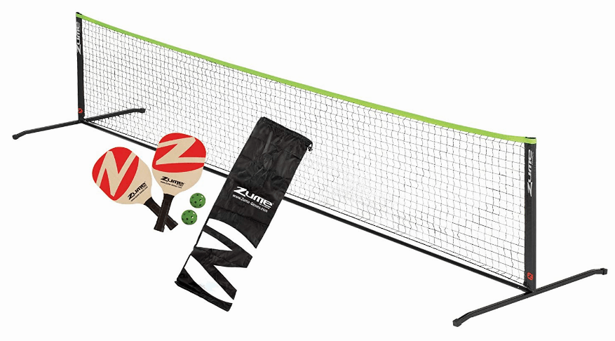 Zume Games Portable Instant Play Portable Pickleball Set