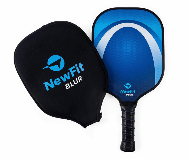 NewFit Blur Graphite Pickleball Paddle