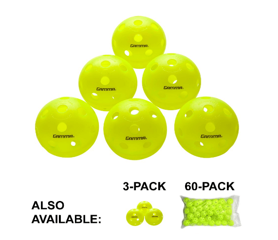 Gamma Sports Photon Indoor And Outdoor Pickleballs